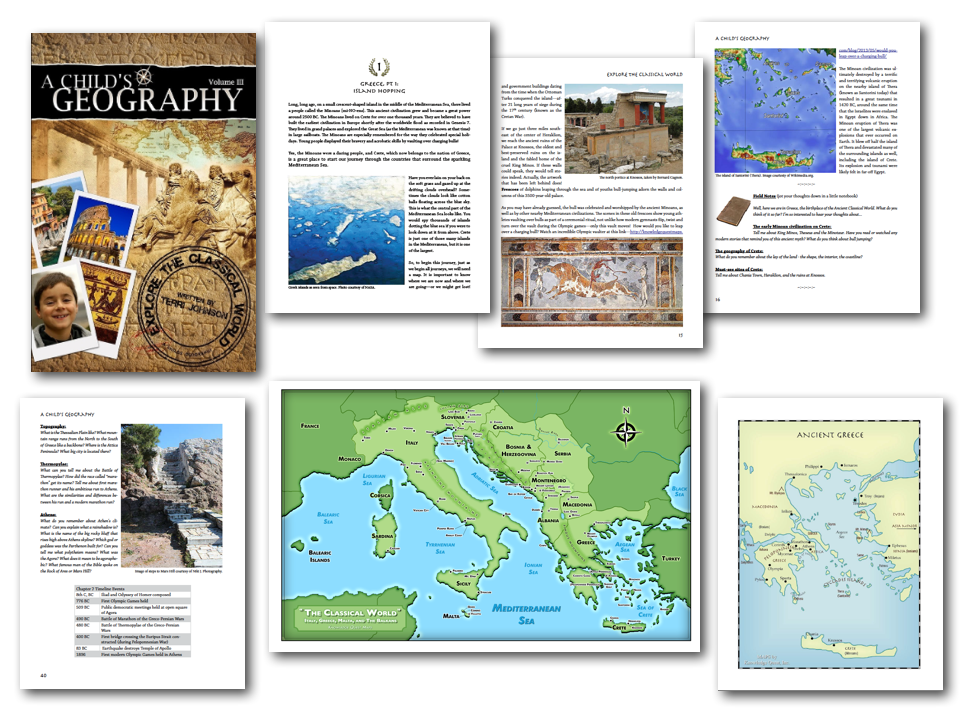 Explore the Classical World pages