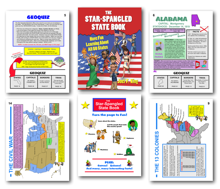 Star Spangled pages