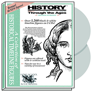 History Through the Ages timeline figures - paper and CD-ROM versions available