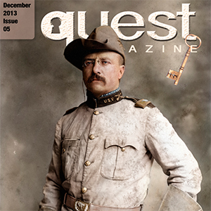Quest Magazine app for apple and android history for kids and families