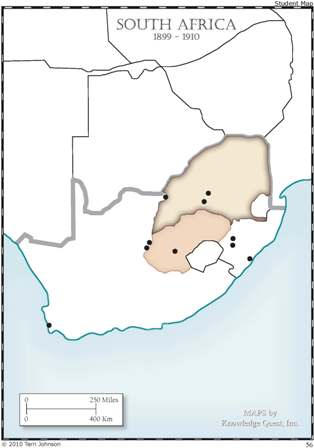 South Africa Unlabeled