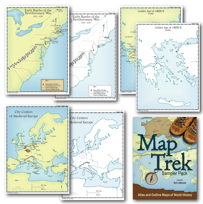 Map Trek Sampler - Download and try Map Trek: Atlas and Outline Maps of World History free.