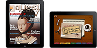 Quest Magazine and Timeline Builder mobile apps